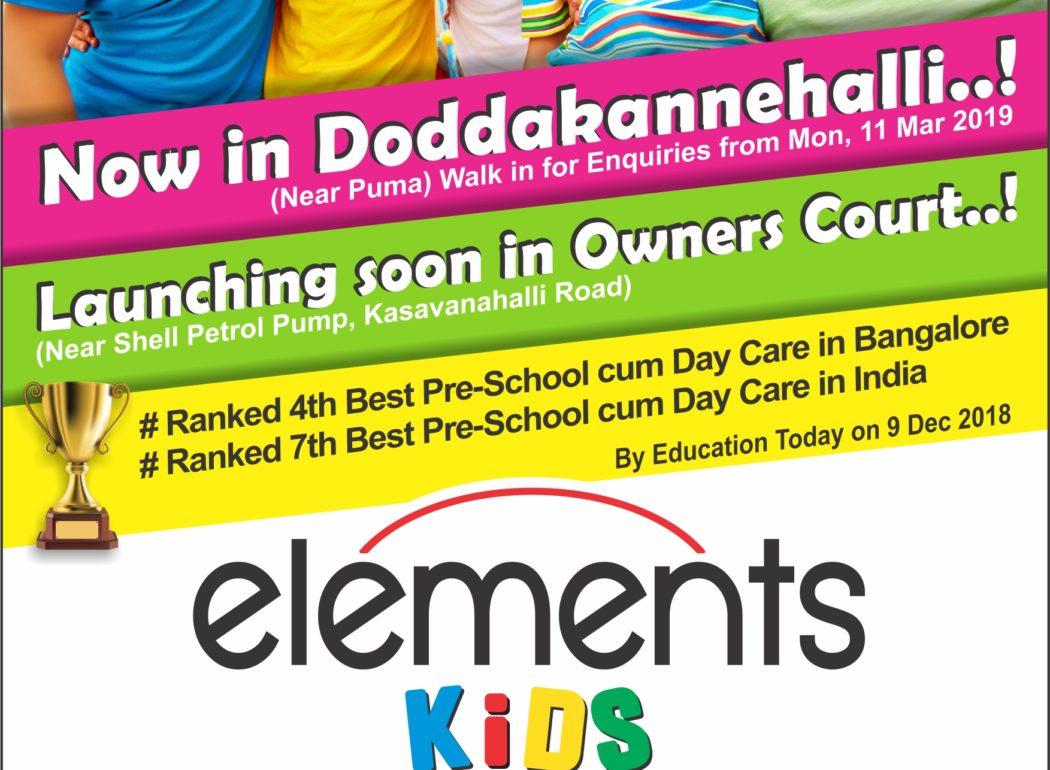 Montessori Preschool in Bangalore